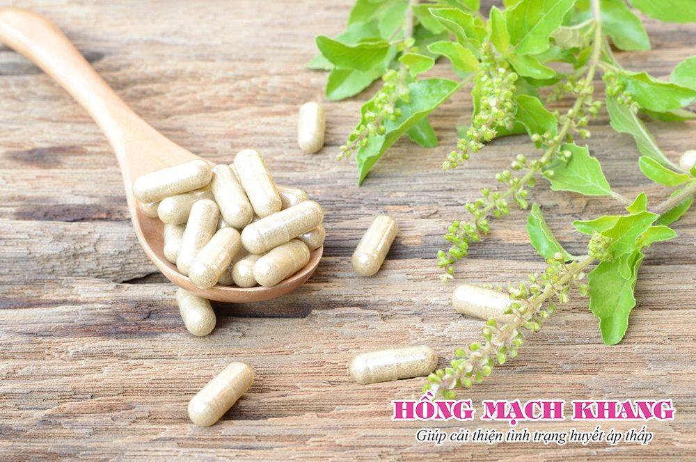 Người bệnh huyết áp thấp sử dụng thêm sản phẩm hỗ trợ từ thảo dược